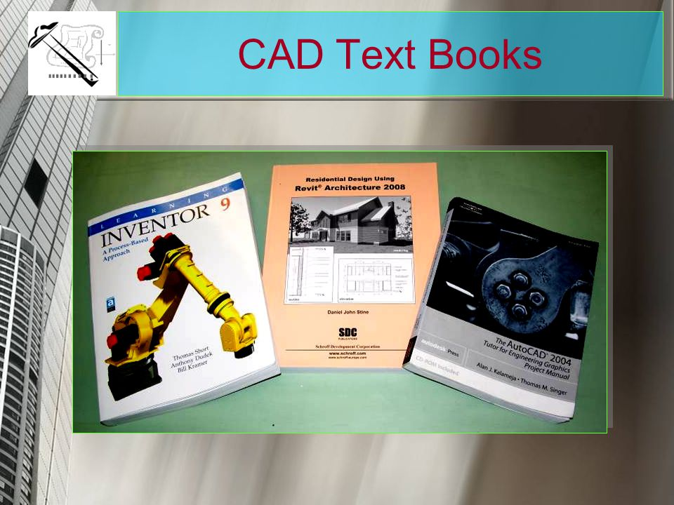 CAD Text Books