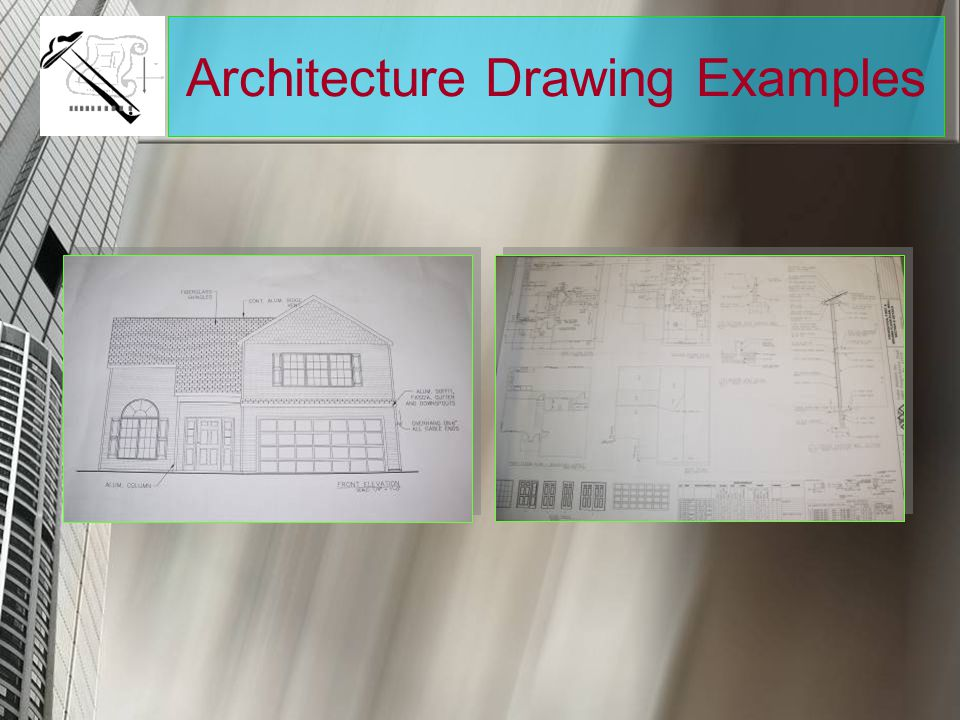 Architecture Drawing Examples