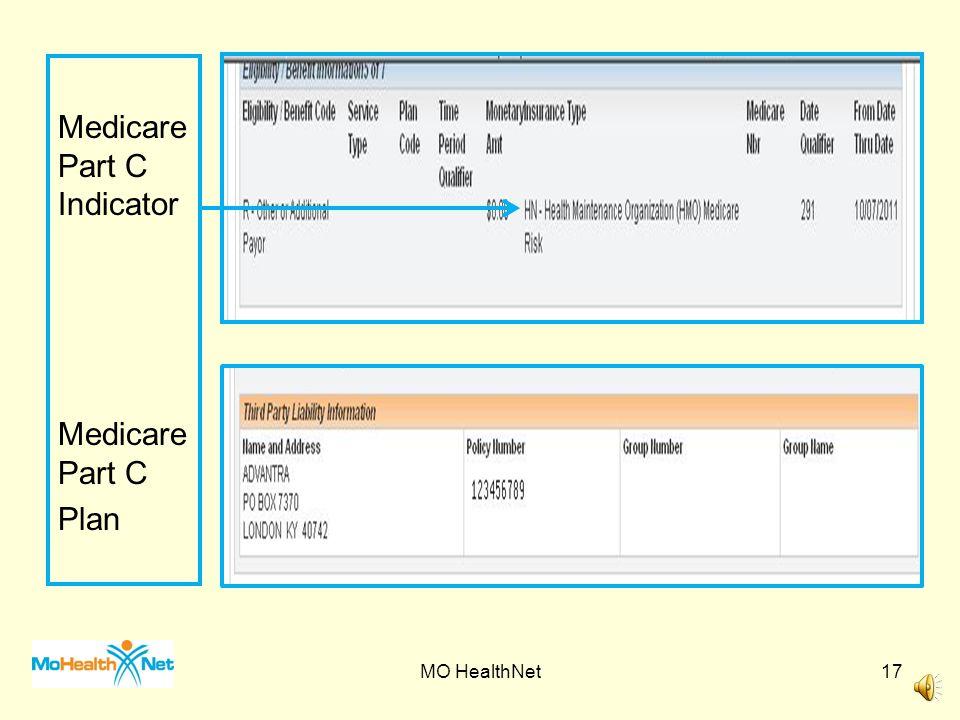 Medicare Part C Indicator