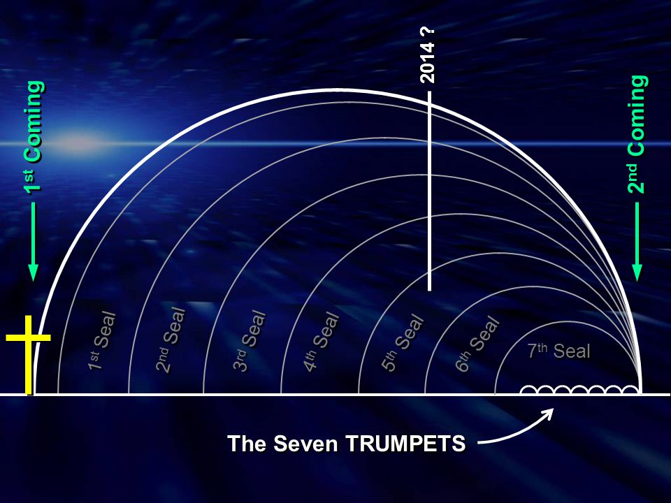 2nd Coming 1st Coming The Seven TRUMPETS 2014 2nd Seal 1st Seal
