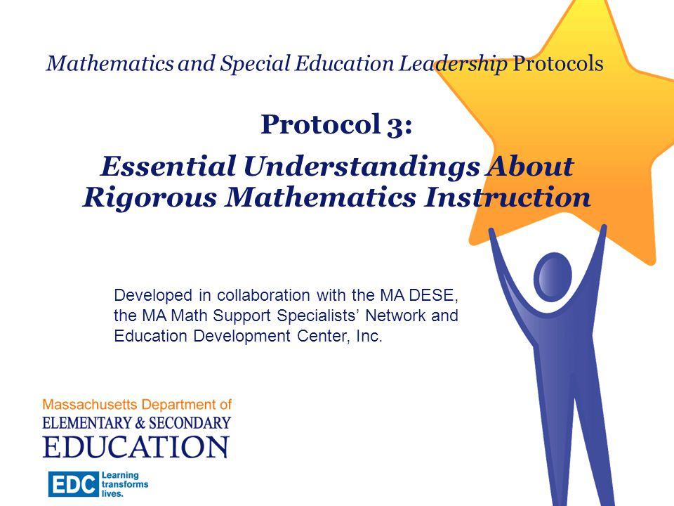Mathematics and Special Education Leadership Protocols