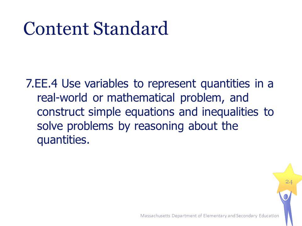 Content Standard
