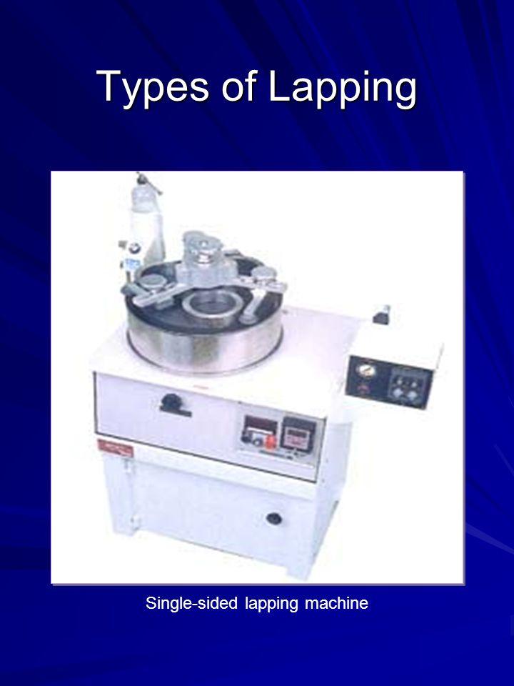 Single-sided lapping machine