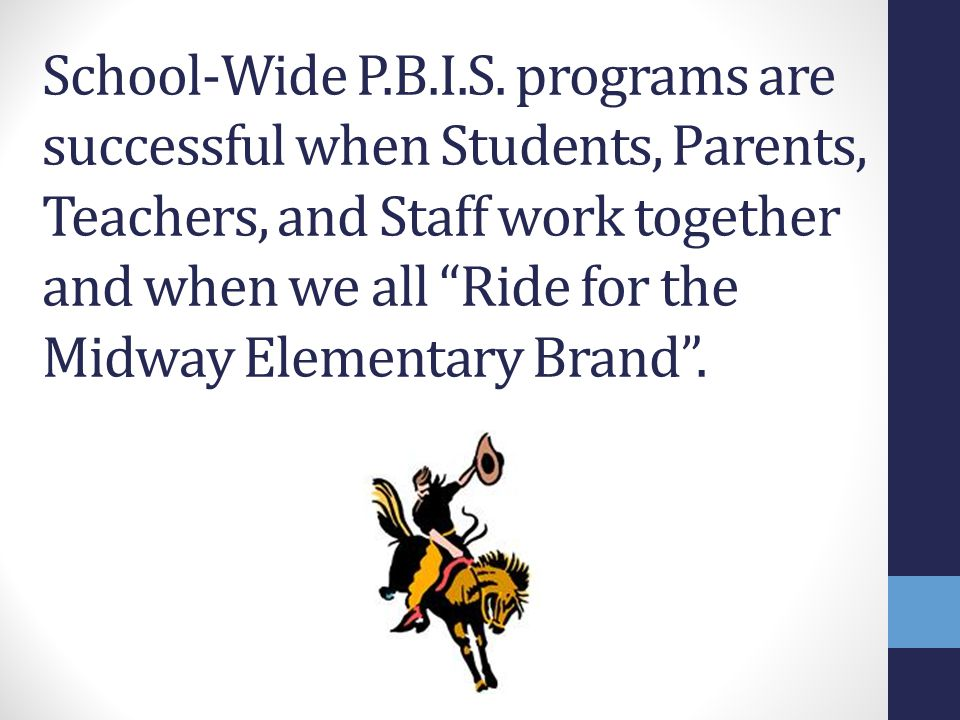 School-Wide P.B.I.S.