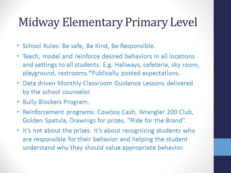 Midway Elementary Primary Level