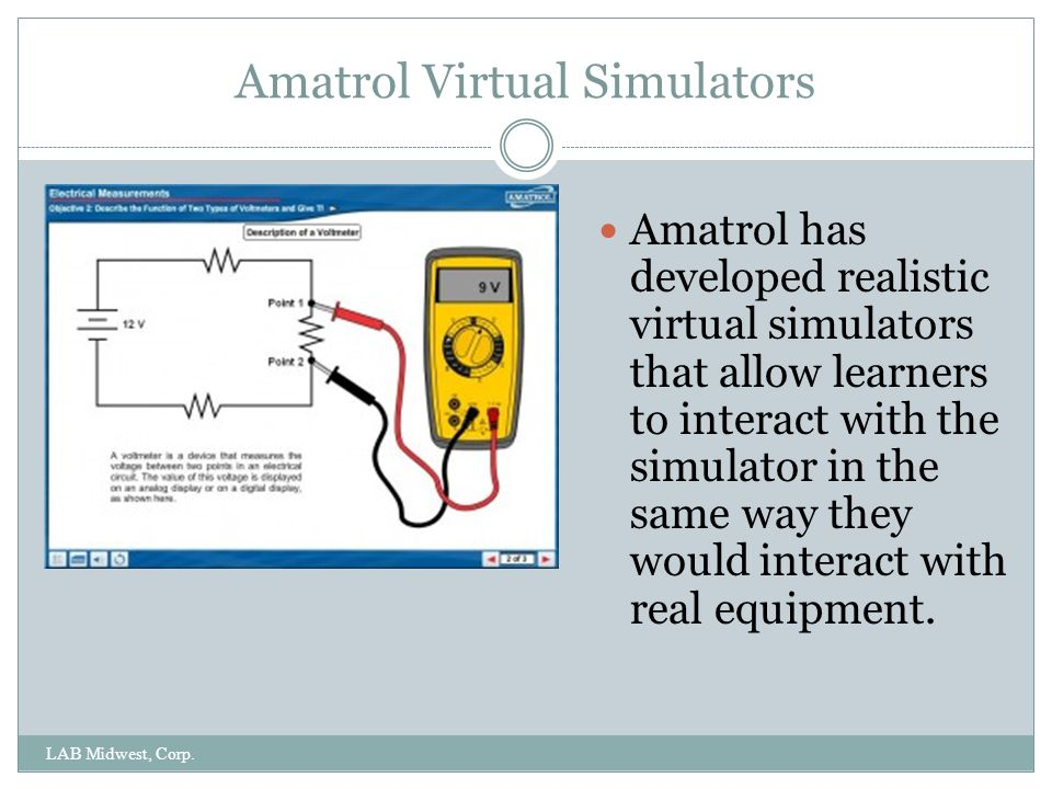 Amatrol Virtual Simulators