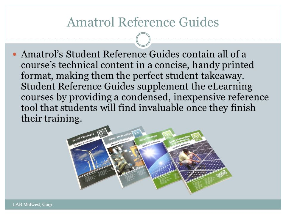 Amatrol Reference Guides