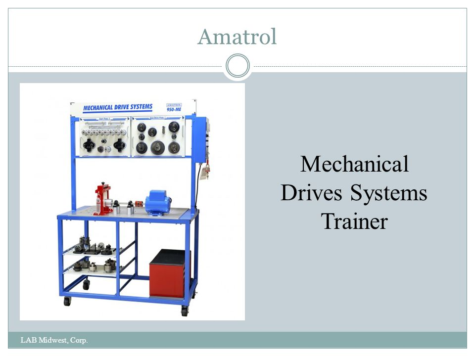 Mechanical Drives Systems Trainer