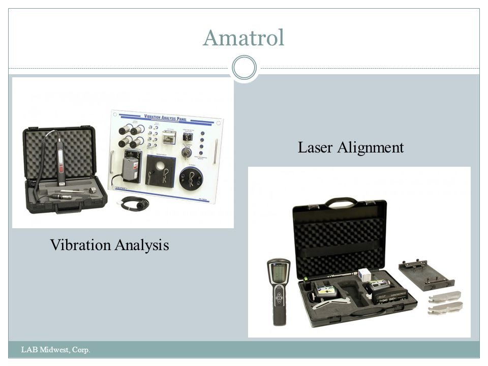 Amatrol Laser Alignment Vibration Analysis LAB Midwest, Corp.