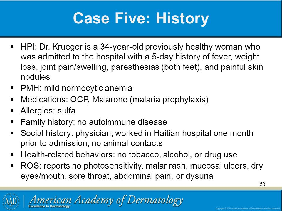 Case Five: History