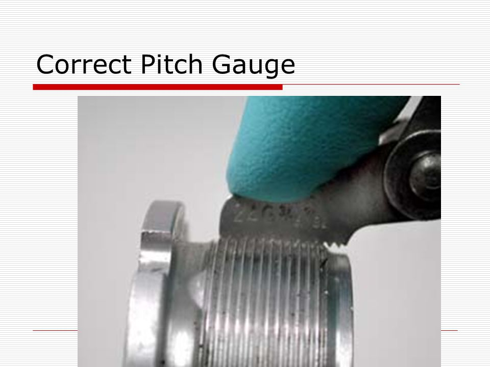 Correct Pitch Gauge