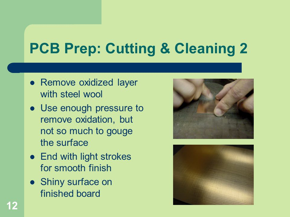 PCB Prep: Cutting & Cleaning 2