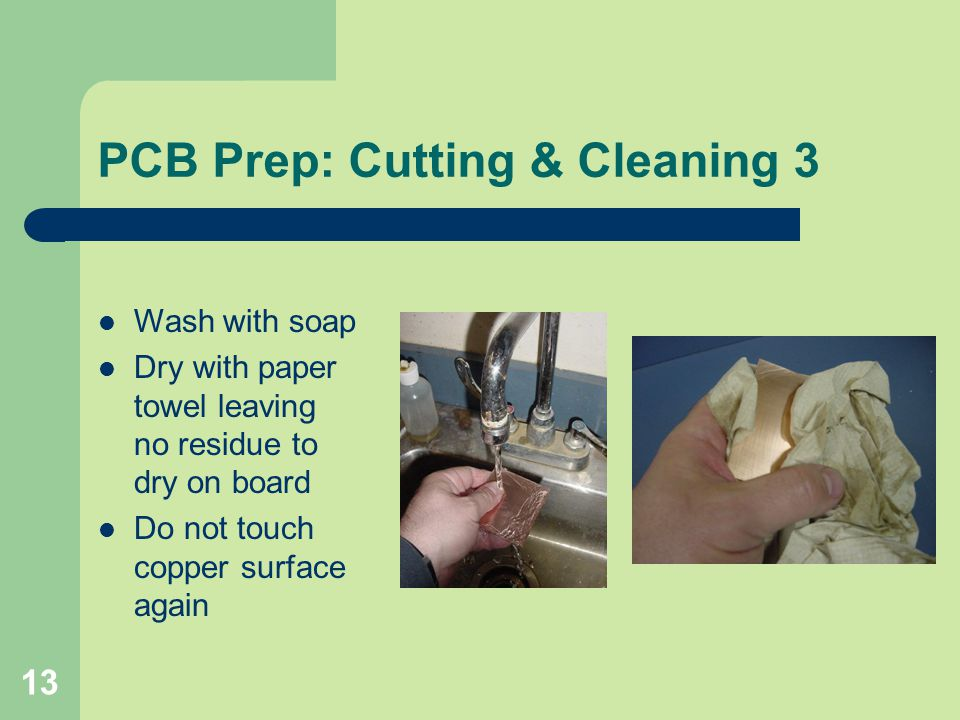PCB Prep: Cutting & Cleaning 3