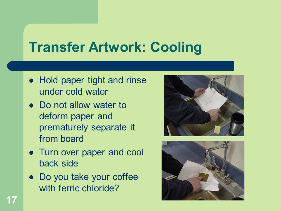 Transfer Artwork: Cooling