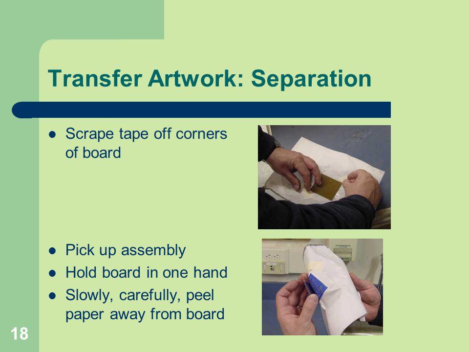 Transfer Artwork: Separation