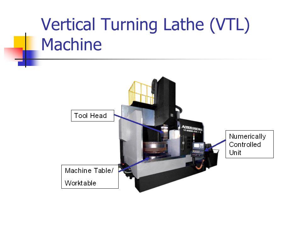 Vertical Turning Lathe (VTL) Machine