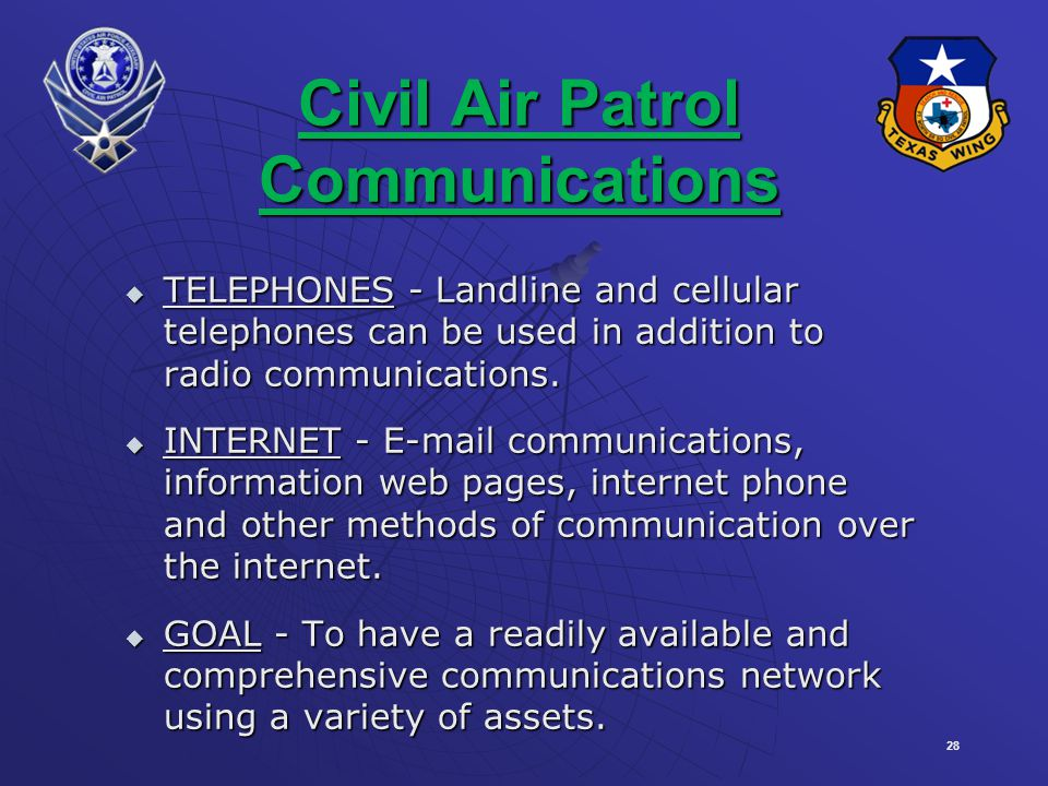 Civil Air Patrol Communications