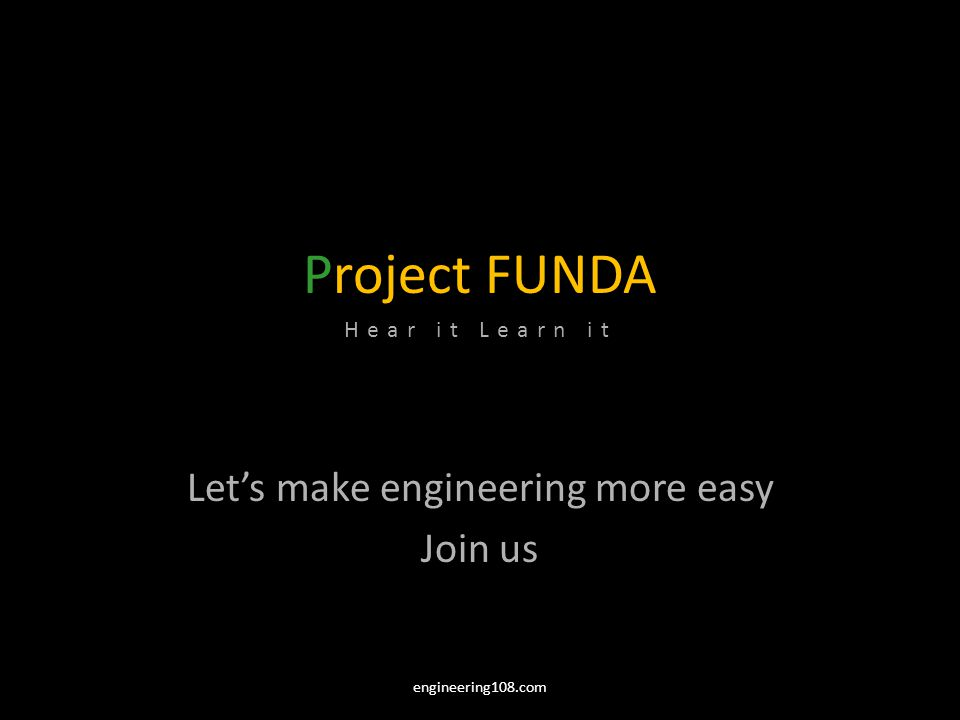 Let's make engineering more easy