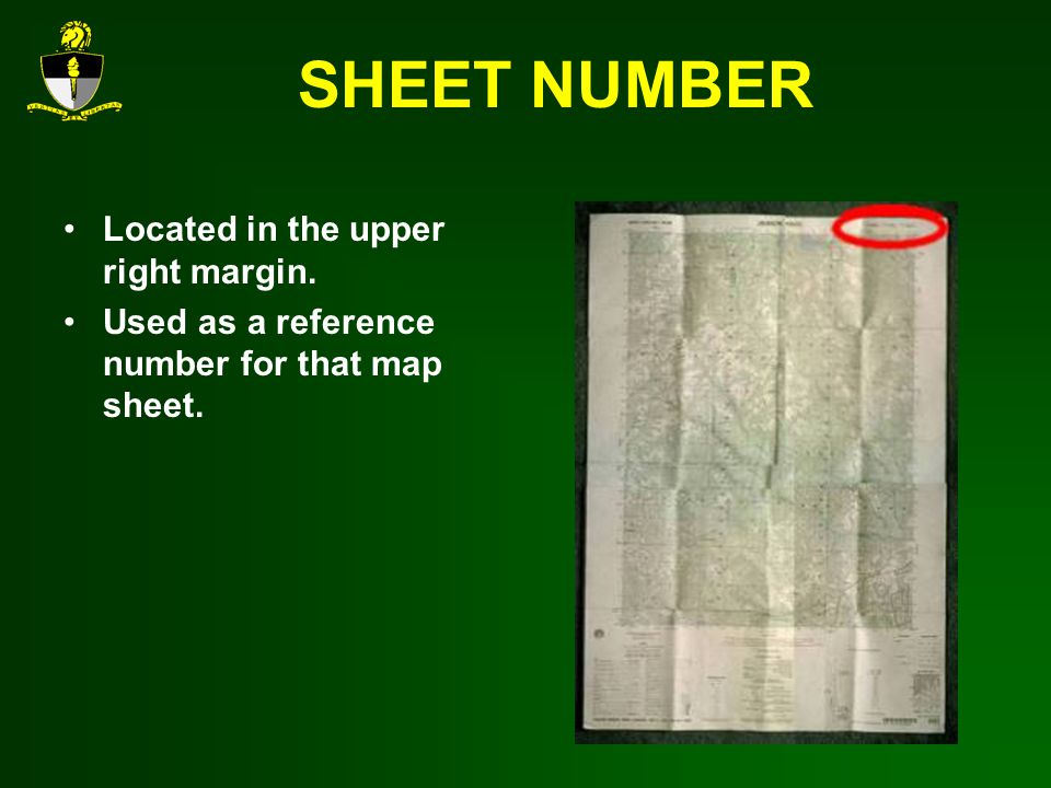 SHEET NUMBER Located in the upper right margin.