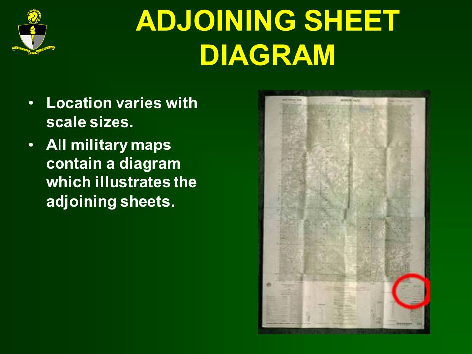 ADJOINING SHEET DIAGRAM