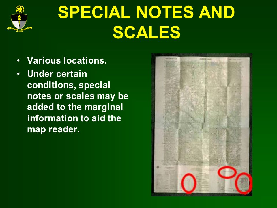 SPECIAL NOTES AND SCALES