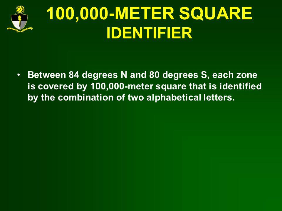100,000-METER SQUARE IDENTIFIER