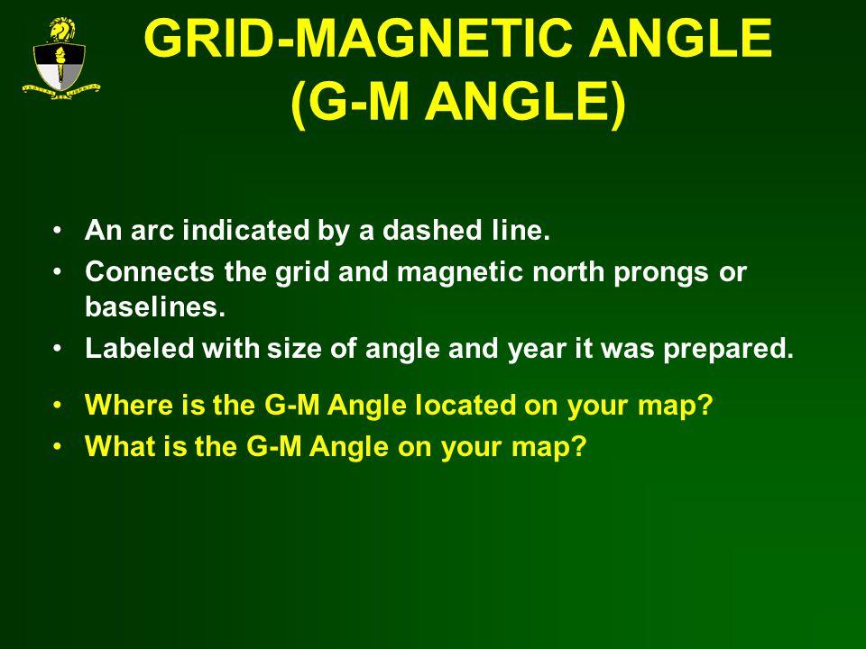 GRID-MAGNETIC ANGLE (G-M ANGLE)