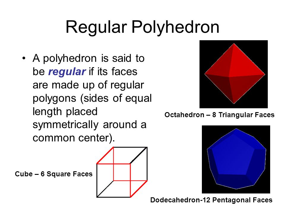 Regular Polyhedron