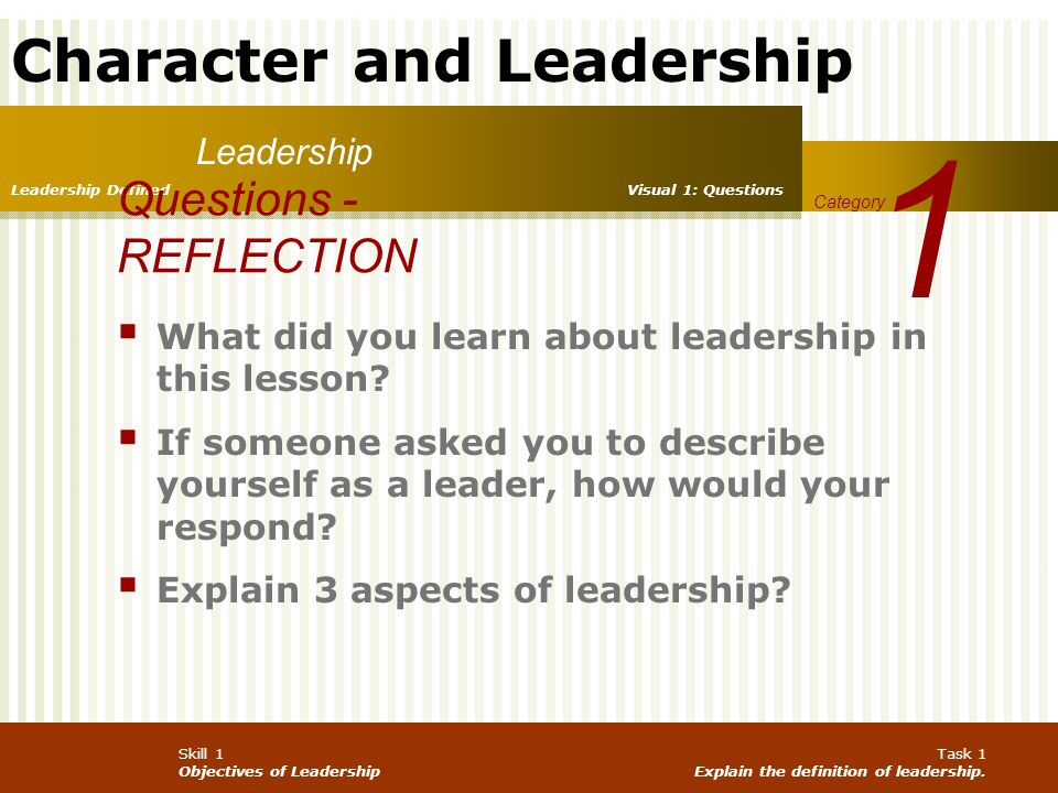 how you would describe a leader andor leadership Your personal leadership philosophy is like a compass it will define what you expect, what you value, and how you act formally articulating your leadership philosophy will let others know what to expect from you as their leader as you may know, there are many leadership philosophies in.