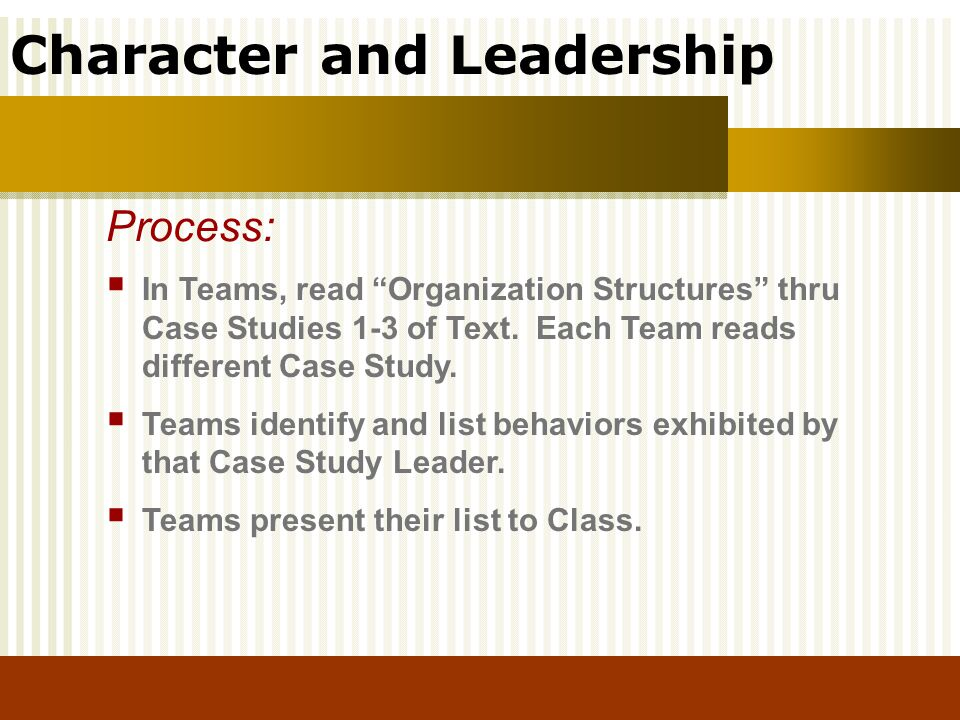essays on character and leadership Wisdom from the pharmacy leadership trenches - sample essay character author: ashp subject: wisdom from the pharmacy leadership trenches - sample essay character.
