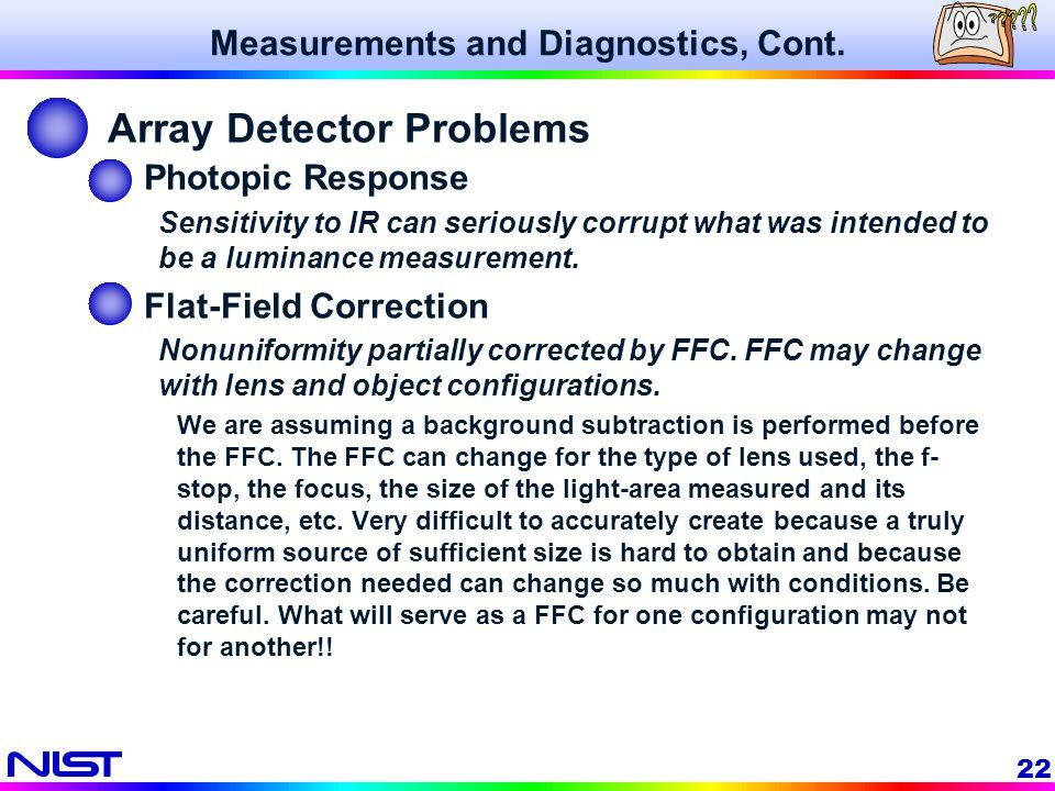 Array Detector Problems