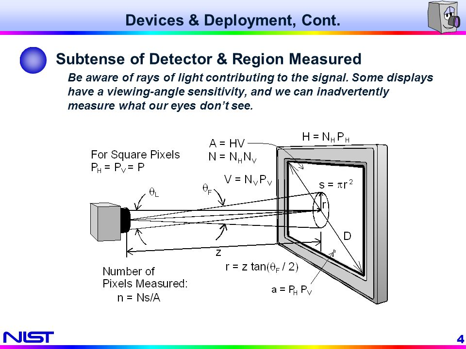 Devices & Deployment, Cont.
