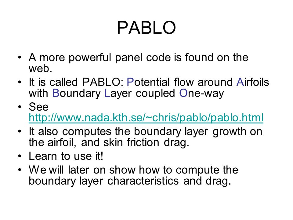 PABLO A more powerful panel code is found on the web.