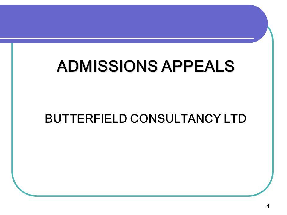 BUTTERFIELD CONSULTANCY LTD