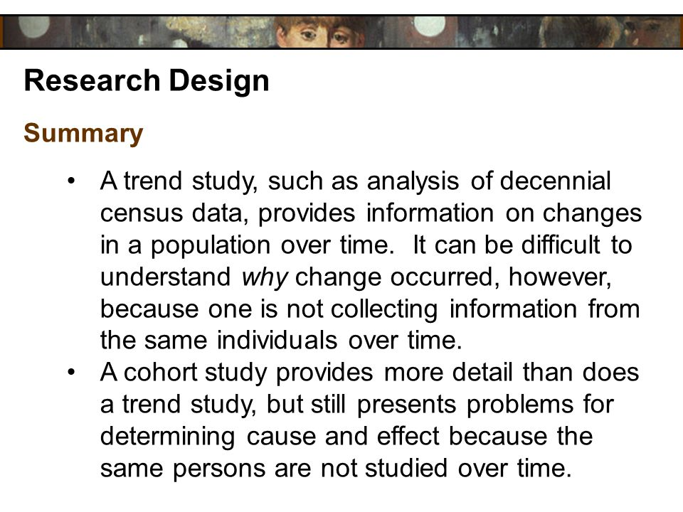 Research Design Summary