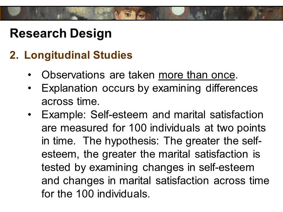 Research Design Longitudinal Studies