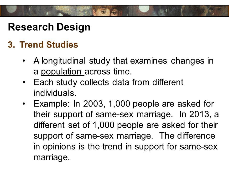 Research Design Trend Studies