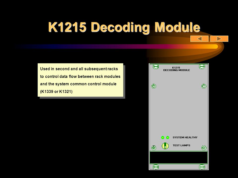 K1215 Decoding Module