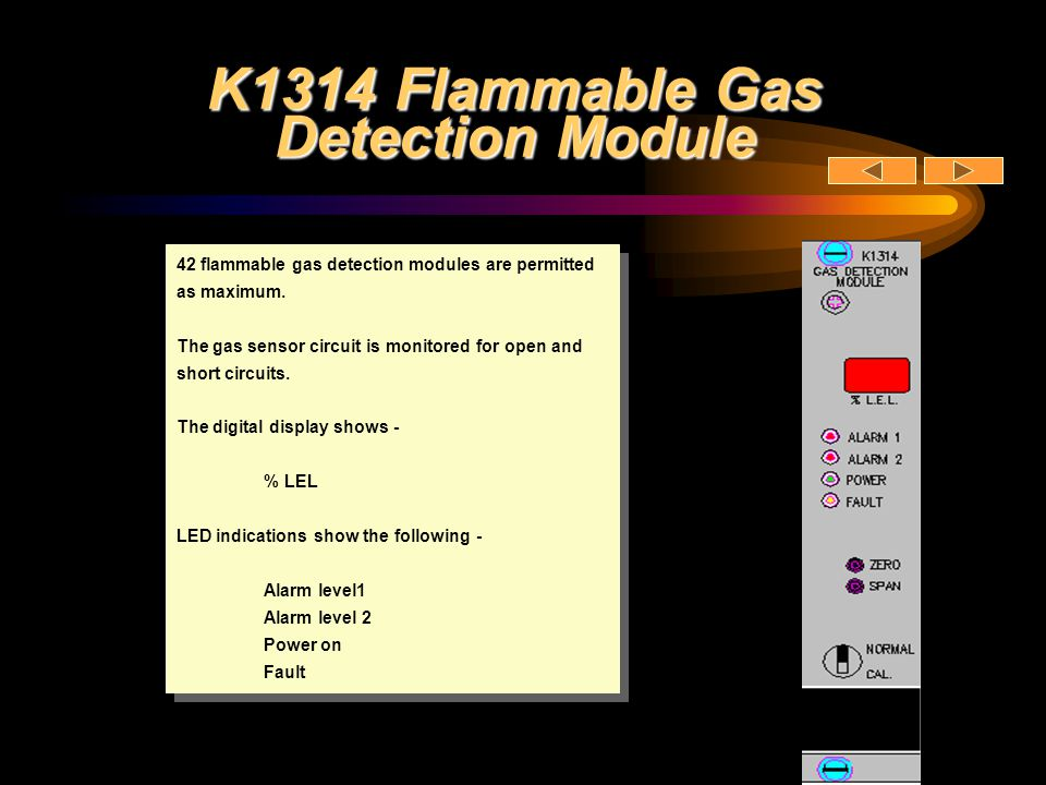 K1314 Flammable Gas Detection Module