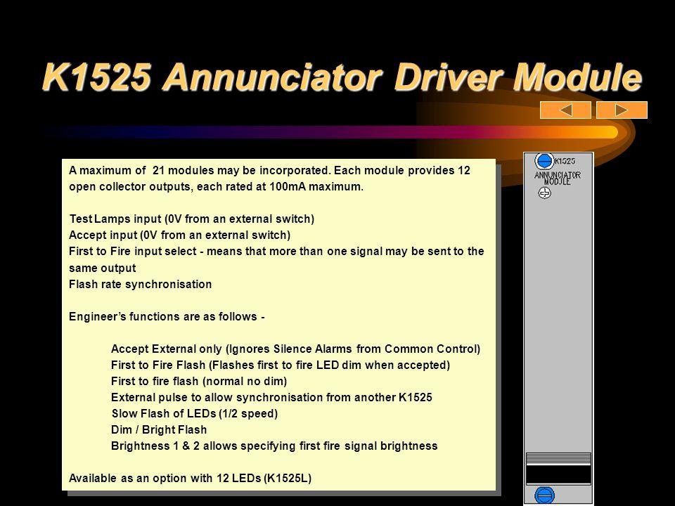 K1525 Annunciator Driver Module