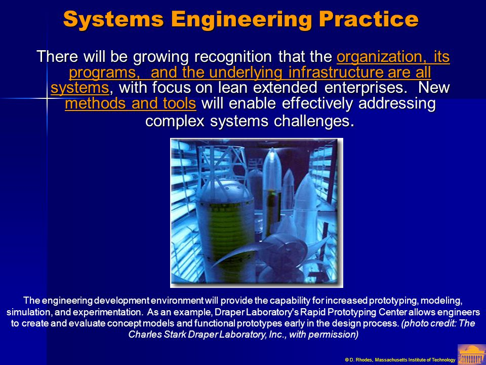Systems Engineering Practice