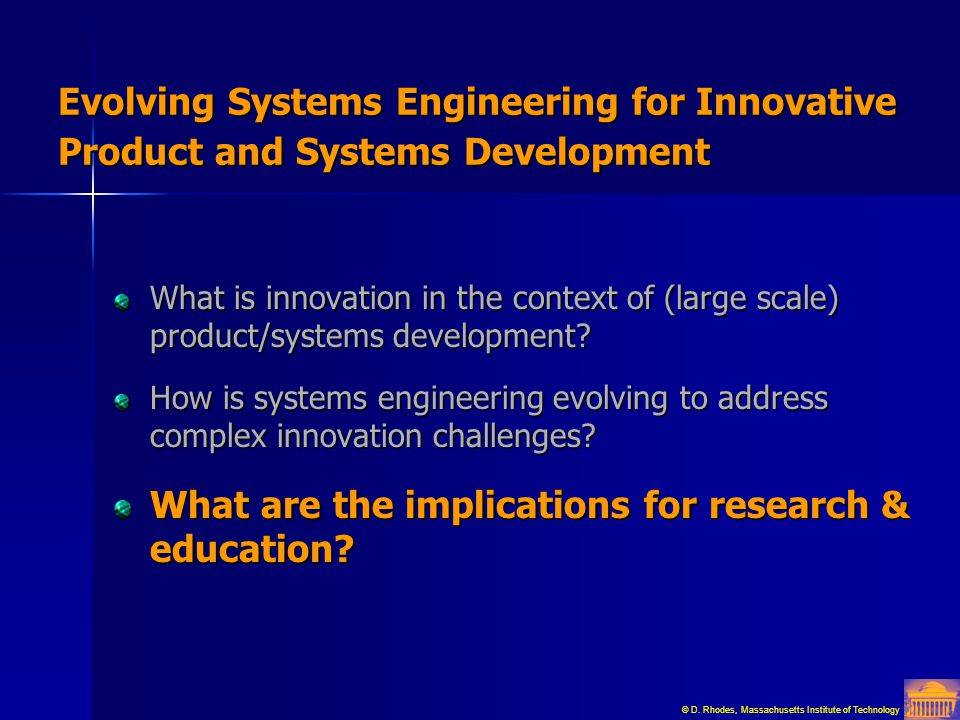What are the implications for research & education