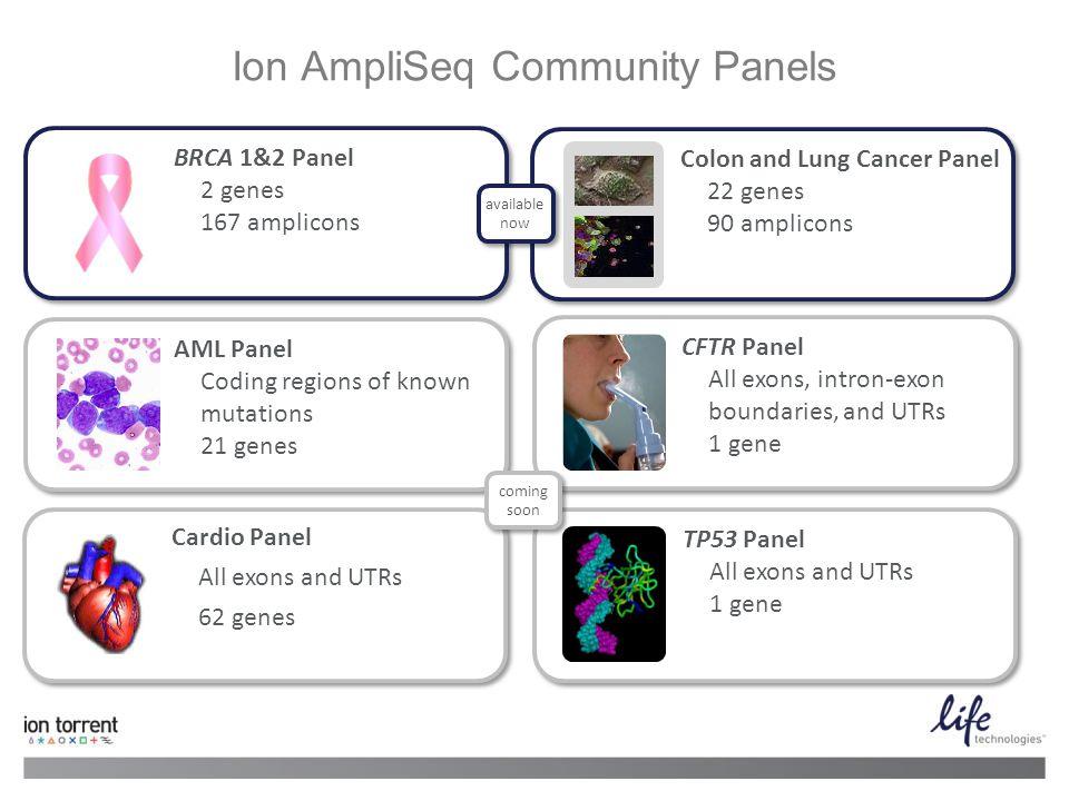 Ion AmpliSeq Community Panels