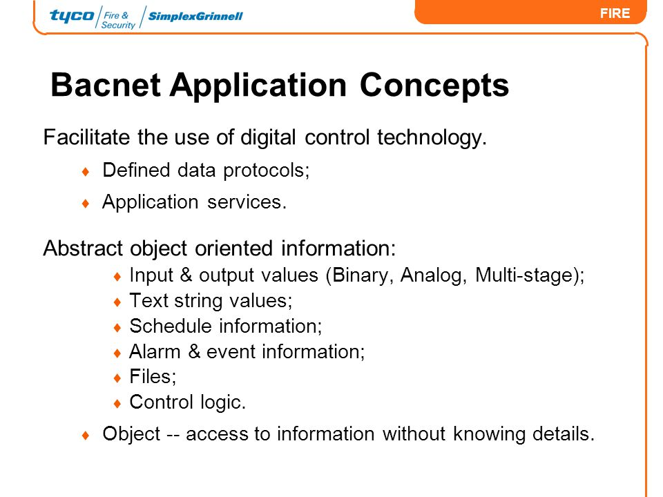 Bacnet Application Concepts