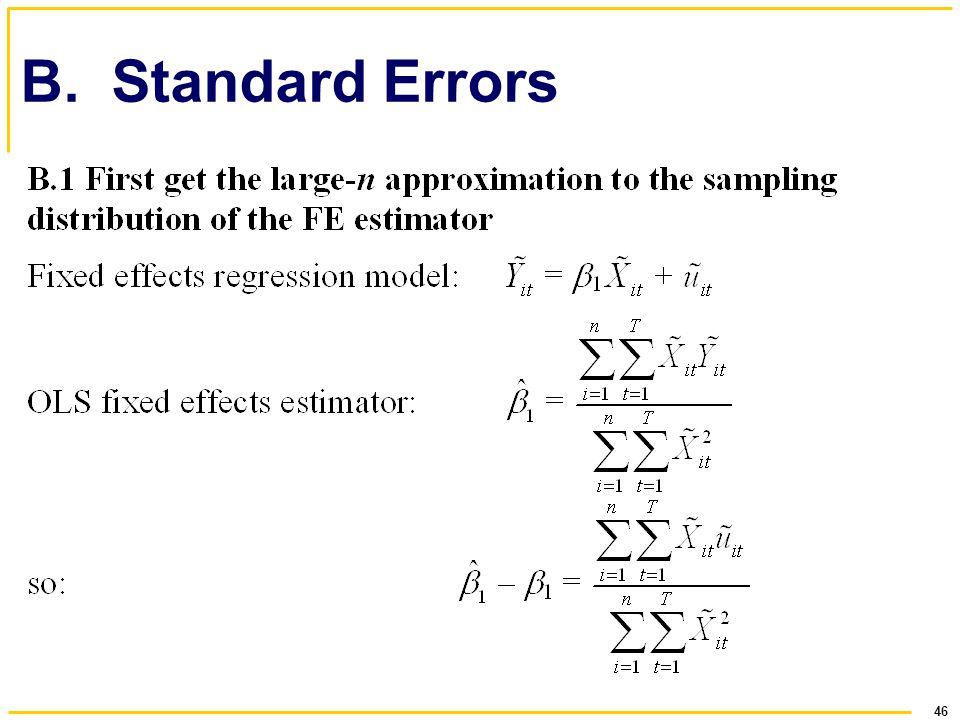 B. Standard Errors
