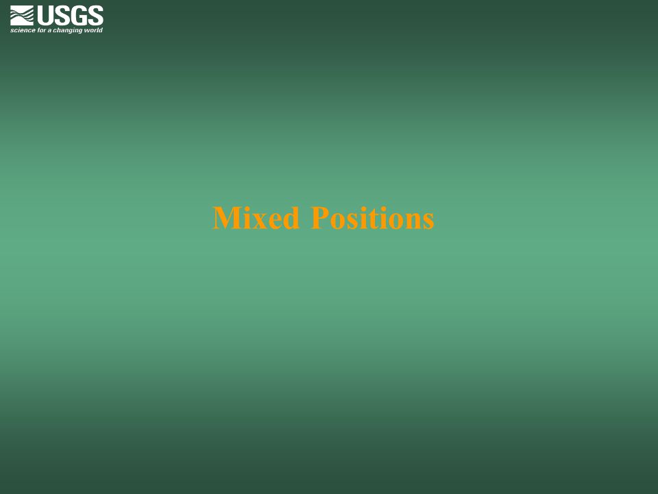 Mixed Positions