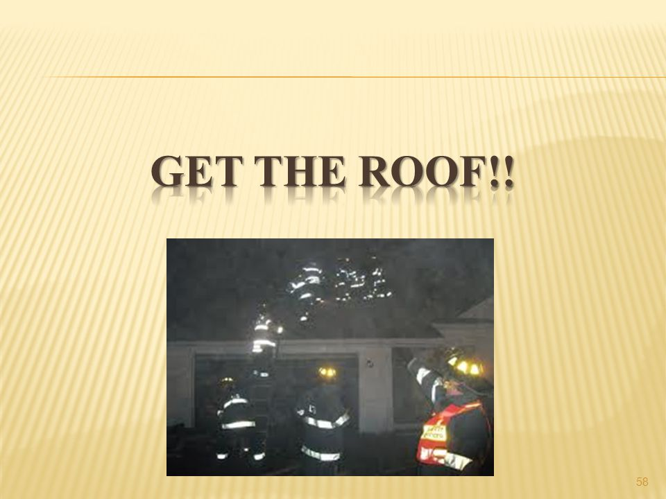 Get the roof!!