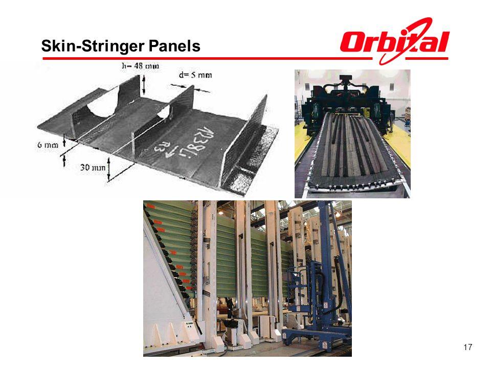 Skin-Stringer Panels