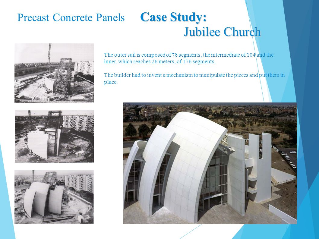 Jubilee Church Precast Concrete Panels Case Study: