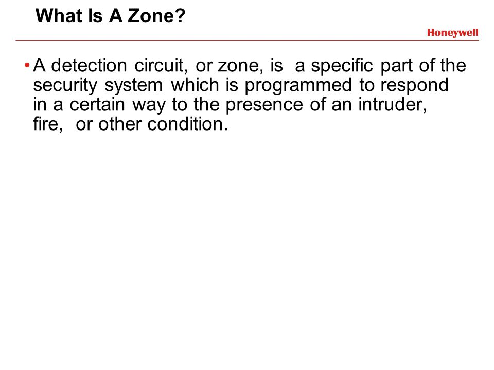 What Is A Zone